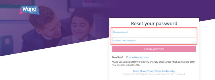 Set your New Password